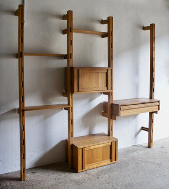 FRENCH MIDCENTURY SHELVING SYSTEM