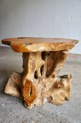 TREE TRUNK SIDE TABLE