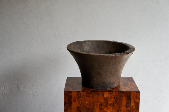 CARVED MORTAR BOWL