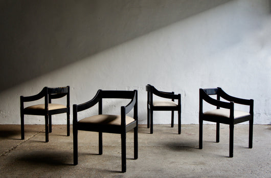 MAGISTRETTI CARIMATE CARVER CHAIRS