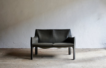 CAB SOFA BY MARIO BELLINI FOR CASSINA
