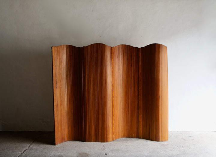 MIDCENTURY TAMBOUR SCREEN