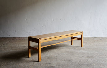 HONGISTO BENCH BY ILMARI TAPIOVAARA FOR BY LAUKAAN PUU