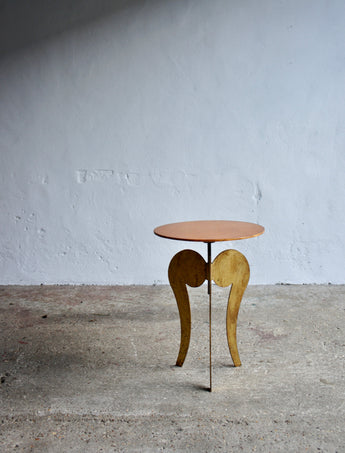 SIDE TABLE BY SERGIO TERZANI, SCANDICCI & JEAN FRANCOIS CROCHET, 1985