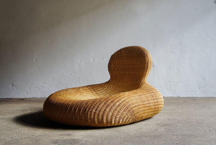 STORVIK RATTAN CHAIR BY CARL OJERSTAM