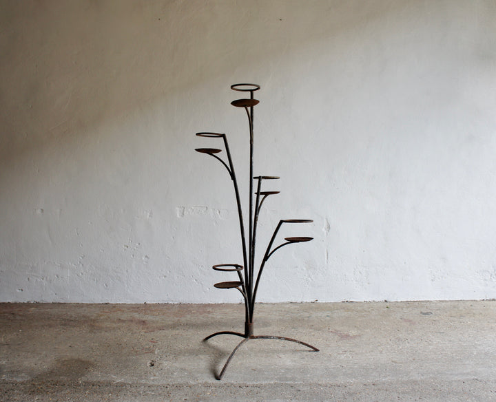 FRENCH METAL PLANT STAND