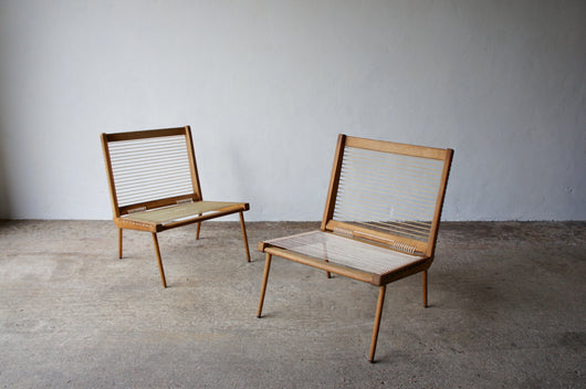 1950'S GEORGE TIGIEN LOUNGE CHAIRS