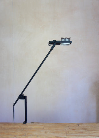ARTEMIDE SINTESI CLAMP LAMP BY ERNEST GISMONDI