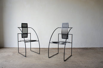 PAIR OF QUINTA CHAIRS BY MARIO BOTTA FOR ALIAS 1985