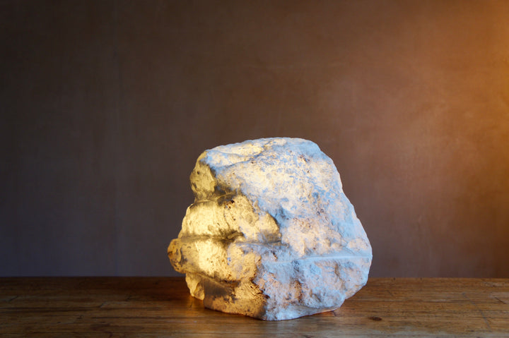LARGE ROCK LAMP