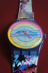 1990'S MAXI SWATCH WALL CLOCK