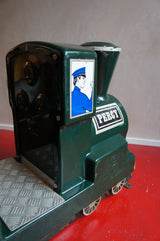 ORIGINAL MIDCENTURY MKC FIBREGLASS FUNFAIR TRAIN RIDE