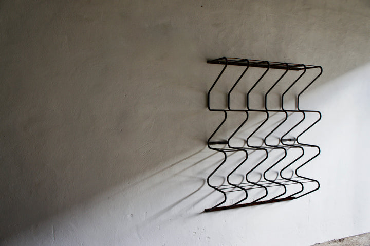 LARGE FRENCH WALL RACK