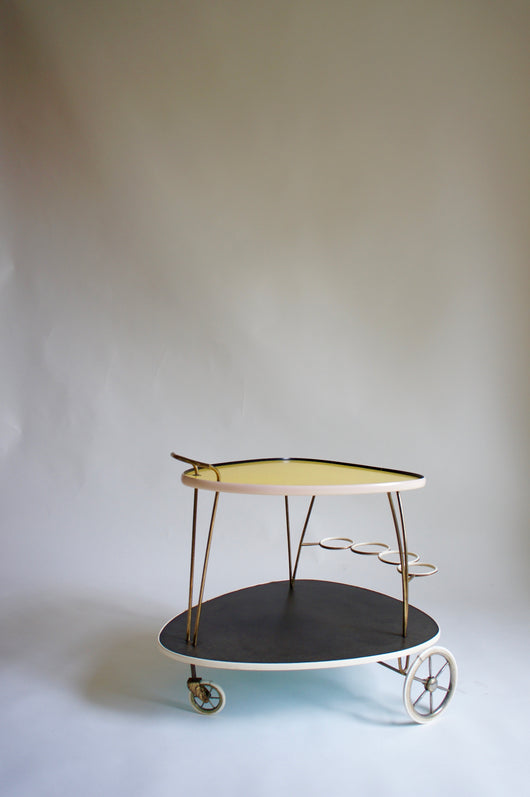 1950'S GERMAN DRINKS TROLLEY