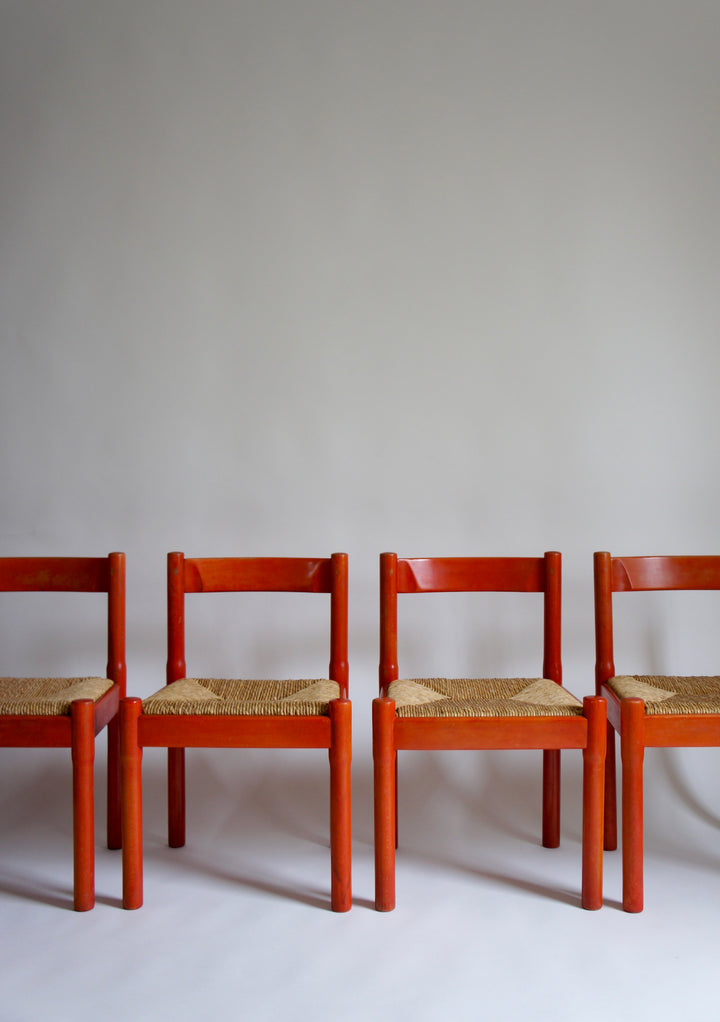 SET OF 4 MAGISTRETTI CARIMATE CHAIRS