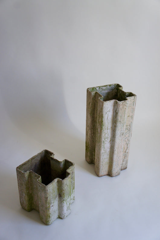 WILLY GUHL PUZZLE PIECE PLANTERS