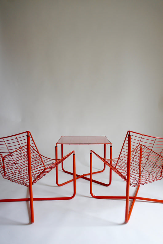 NIELS GAMMELGAARD JARPEN TABLE & CHAIR SET