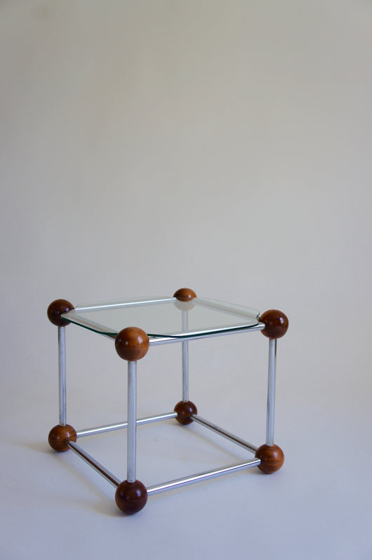 ATOMIC CUBE SIDE TABLE