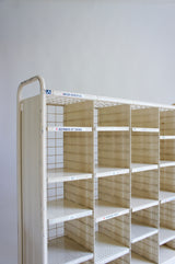INDUSTRIAL FRENCH POSTAL SHELVING