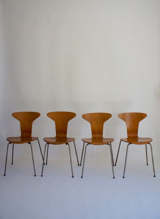 1960'S MOSQUITO CHAIRS BY ARNE JACOBSEN FOR FRITZ HANSEN