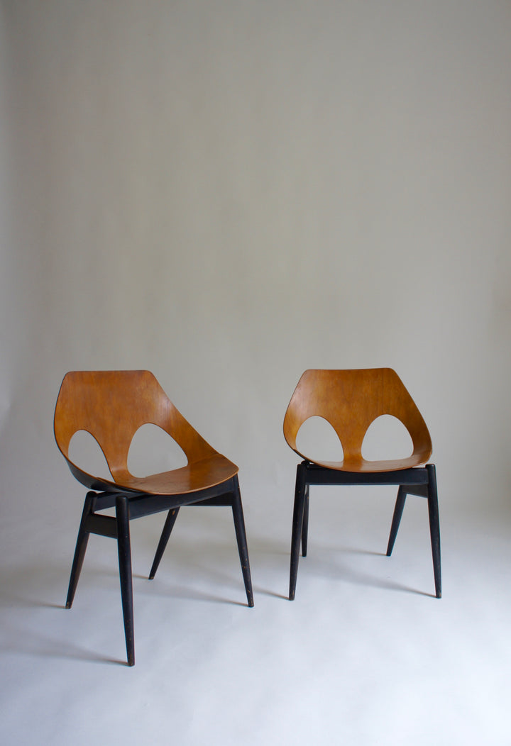 PAIR OF 1950'S KANDYA JASON CHAIRS BY CARL JACOBS