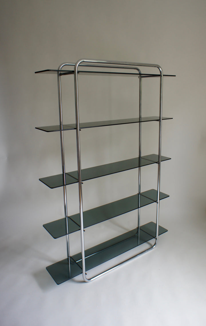 TUBULAR GLASS SHELVING