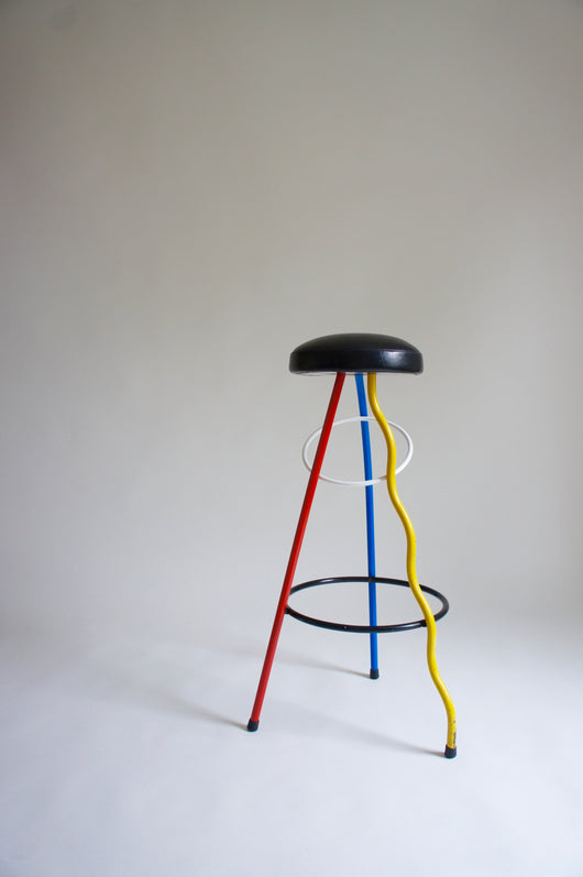 DUPLEX BARSTOOL BY JAVIER MARISCAL 1983