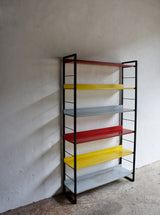 1960'S BOOKCASE BY A D DEKKER FOR TOMADO