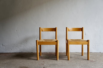 PAIR OF CARIMATE CHAIRS BY VICO MAGISTRETTI