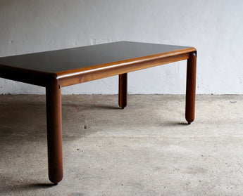 781 WALNUT DINING TABLE BY VICO MAGISTRETTI FOR CASINA, 1967