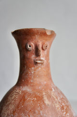 SOUTH AMERICAN TERRACOTTA FLAGON
