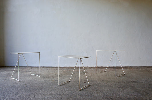 NESTING SIDE TABLES BY MATTHIEU MATEGOT