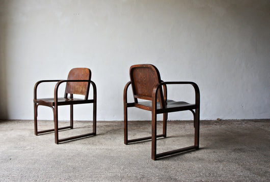 1930'S A 745 F CHAIRS BY TATRA