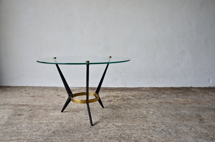 1950'S CIRCULAR COFFEE TABLE BY ANGELO OSTUNI