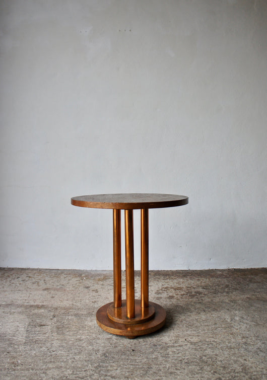 1930'S ART DECO SIDE TABLE