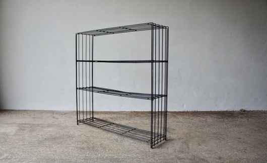 1960'S WIRE BOOK SHELF BY TJERK REIJENGA FOR PILASTRO