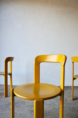1970S BRUNO REY DINING CHAIR SET FOR DIETIKER