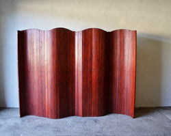 LARGE ART DECO TAMBOUR SCREEN BY S.N.S.A