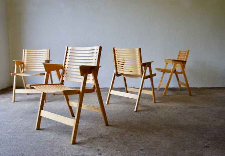 4 REX CHAIRS BY NIKO KRALJ