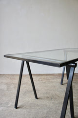 1970'S OMK TRESTLE TABLE BY RODNEY KINSMAN