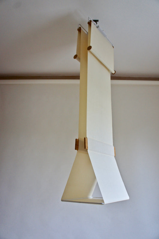 1970'S IBIS TELA CANVAS PENDANT LAMP
