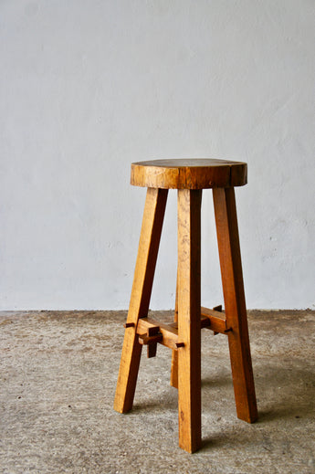 MODERNIST TREE TRUNK BAR STOOL