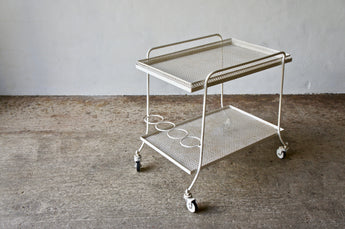 1950'S MATHIEU MATEGOT DRINKS TROLLEY