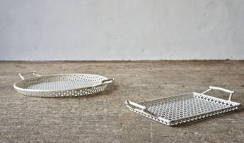 PAIR OF 1950'S MATHIEU MATEGOT TRAYS