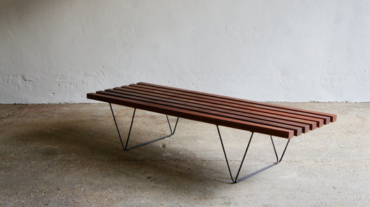 1950'S BENCH BY ROBIN DAY FOR HILLE
