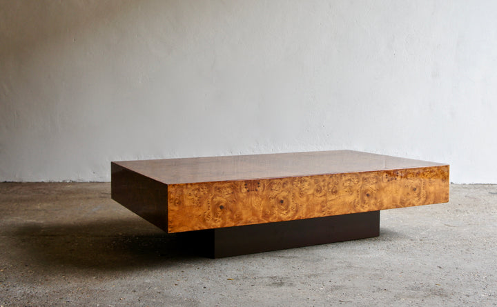 1970'S WALNUT COFFEE TABLE