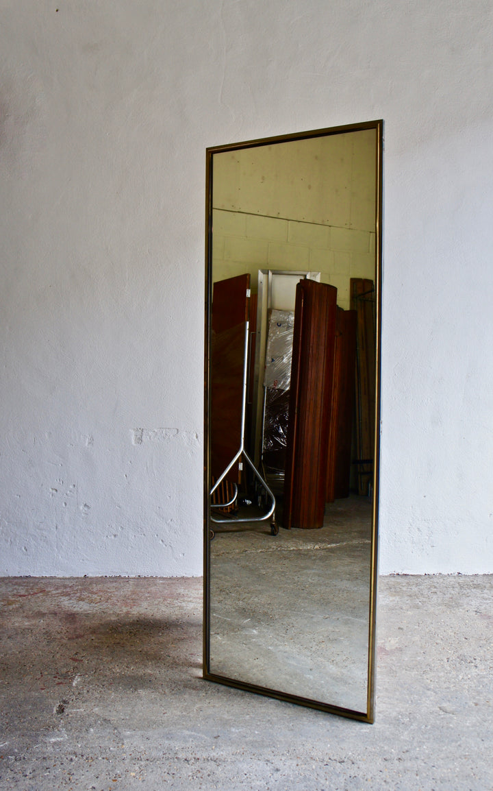 SALVAGED FULL SIZE MIRROR
