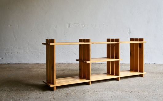 MODERNIST PINE SHELVING