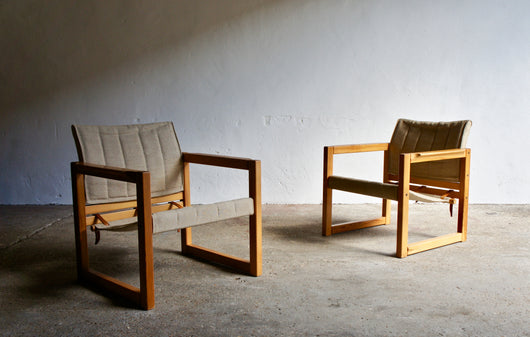 PAIR OF DIANA ARMCHAIRS BY KARIN MOBRING
