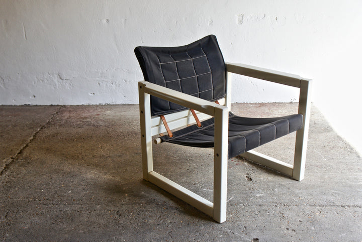 BLACK & WHITE DIANA CHAIR BY KARIN MOBRING